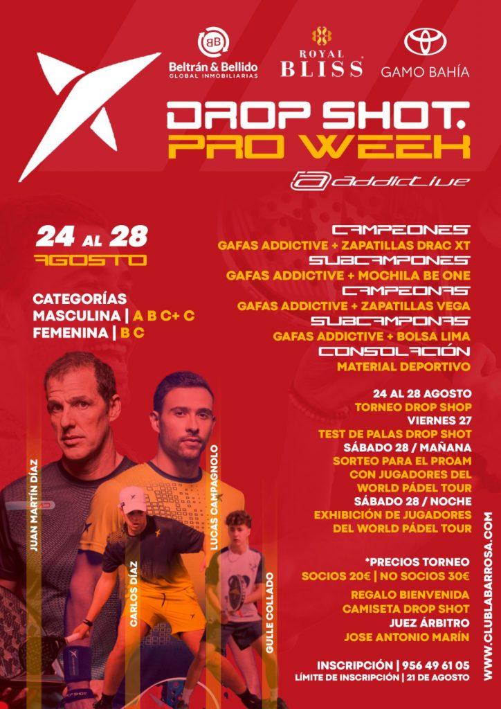 Drop Shot Pro Week - Club La Barrosa